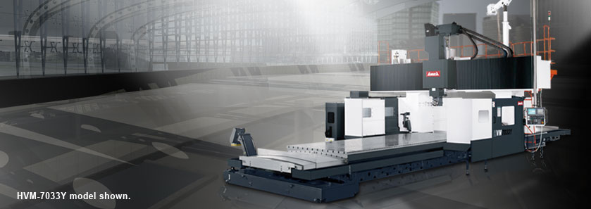 CNC 5-Face Bridge Machining Center HVM-7033Y  series model shown